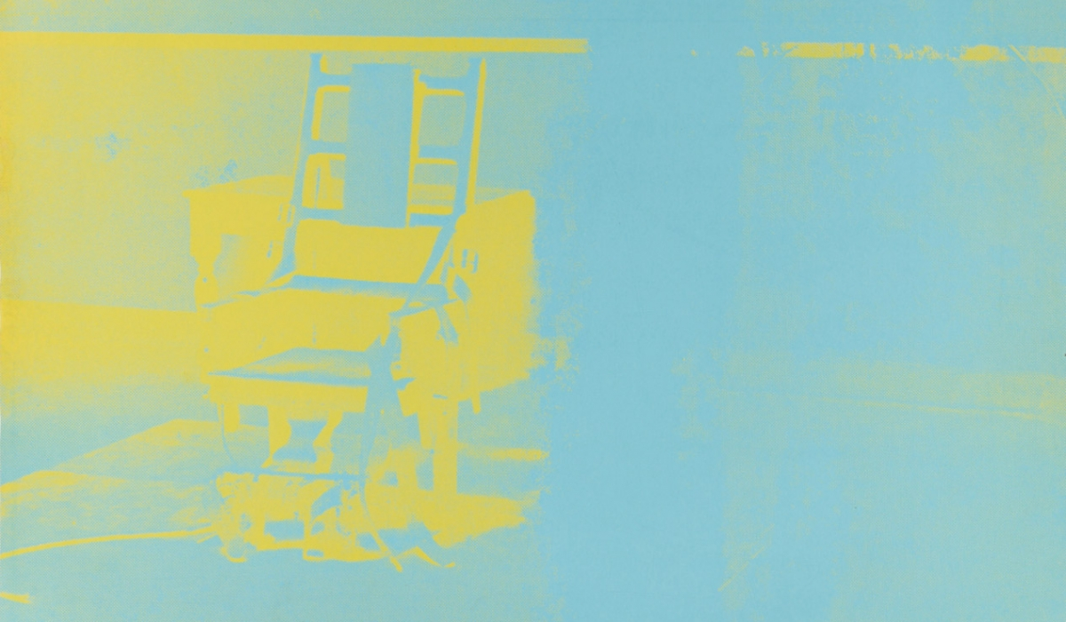 blond-contemporary–warhol-andy–electric-chair